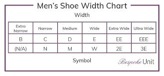 Sneaker Width Chart Mens Shoe Width Chart In 2019 Shoe Size Conversion Shoe