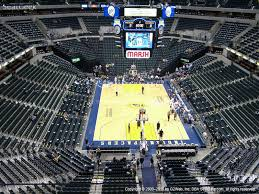 Conseco Fieldhouse Seating Chart View 25 True Bankers Life Seat Map