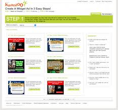 Project Detail View Ad Template Selection Page For Kwanzoo