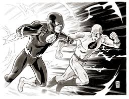 Flash Vs Reverse Flash Brian Hurtt
