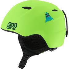 Kids Slingshot Ski Helmet Matte Lime Shark Party 18 Xs S