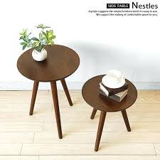 an amount of money changes by the round table nestles size three legs legged round table 3 legs