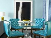 crafty inspiration turquoise dining room chairs 29