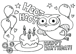 Cake Coloring Page Arenadirectoryinfo
