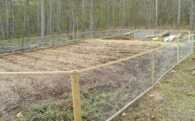 Garden Fence Ideas Chicken Wire Wood And Wire Fence Designs The Home