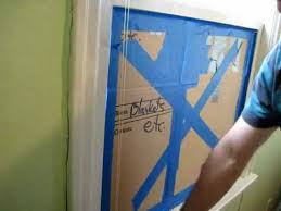 broken window pane replacement step 1