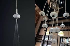 fashionable glass ball chandelier orion floating