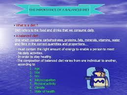 Balanced Diet Chart Ppt Balanced Diet Authorstream