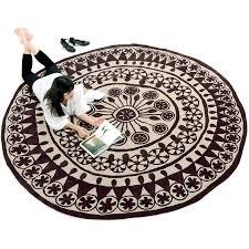 nanimarquina rangoli round area rug