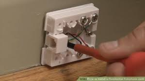 how to install a residential telephone jack pictures image titled install a residential telephone jack step 12