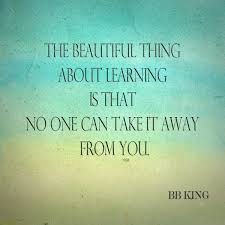 Inspirational Education Quotes Beauteous The Beautiful Thing About Learning Is That No On Can Take It Away