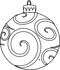 Colour And Design Your Own Christmas Ornaments Printables Coloring ...