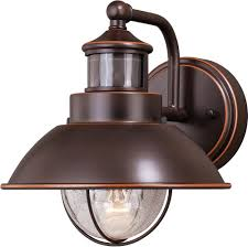 Exterior Photocell Light Fixtures Vaxcel T0252 Harwich Dualux Burnished Bronze Outdoor Motion Sensor W Photocell Light Sconce