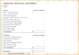 6 Projected Income Statement Template 5 Year Excel Personal
