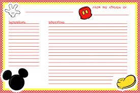 recipe cards for kids. Exellent Cards PRINT ME And Recipe Cards For Kids I