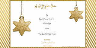 christmas certificates templates free editable christmas gift certificate template 23 designs