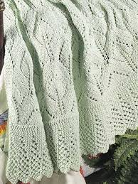 Knitted Afghan Patterns Stunning Light Airy Lace Knit Afghan Free Blanket Pattern