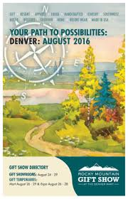 rocky mountain gift show august 2016