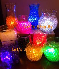 vase lighting ideas. 100g water pearl bead 12 led submersible wedding table centerpiece vase light lighting ideas n