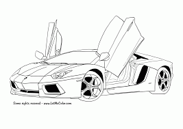 Small Picture Adult sport car coloring pages Car Coloring Pages For Kids Cool