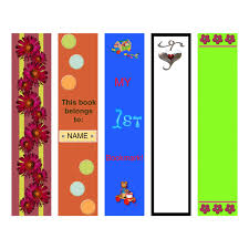 Bookmark Designs To Print Bookmark Template To Print Activity Shelter