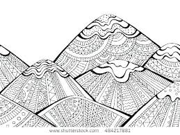 Printable Snowflake Mandala Coloring Pages Template Of Snowflakes