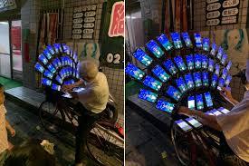 Taiwanese Pokemon Go grandpa now using 45 phones simultaneously
