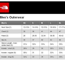 Size Chart For North Face Osito Jacket Coupon Code For The North Face Denali Size Chart Ac9c9 Ba29b