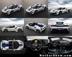 Ferrari 488 Pista Spider 2019 Pictures Information Specs