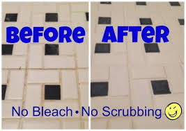 bathroom cleaner without bleach. clean and whiten tile grout without bleach - rebecca heriz bathroom cleaner