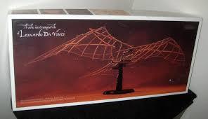 sold leonardo da vinci flying machine model kit 1 6 scale incunabula museum series edition of 1000
