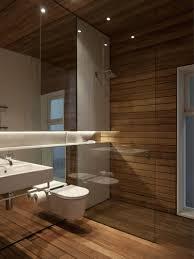 Japanese High Tech Toilets Badezimmer Ohne Fliesen Wand Holz