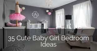 cute baby girl nursery bedroom ideas