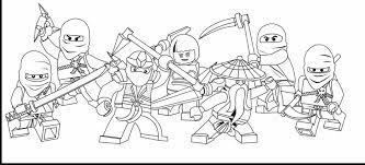Tranh tô màu Ninjago siêu cute và dễ thương cho các bé