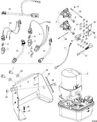 Mercruiser bravo xr i iii sport master trim pump assembly plete