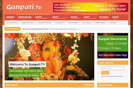 ganpati tv site launch