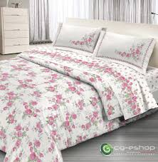 details about set duvet cover 1p 1 2 small double rose garden pink roses sheet sott