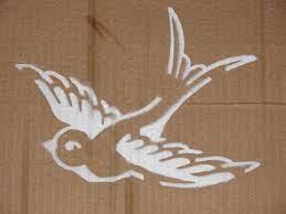8 swallow stencil ideas swallow