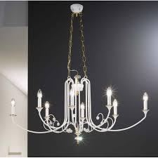 kolarz camilla crystal chandelier white