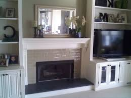 built in bookshelves around fireplace american hwy