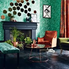 informal green wall indoors. Try Deep Green With Copper Informal Wall Indoors F
