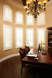 exterior shutters las vegas. high ceilings and windows are not a problem for the split design topped with arched shutters exterior las vegas e