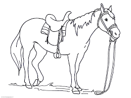Epic Realistic Horse Coloring Pages 45 For Your Coloring For Kids