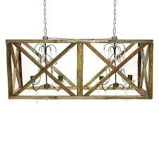 rectangular wood chandelier rectangular wood framed chandelier cesto collection 7 light wood rectangular chandelier