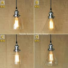 clear glass pendant shade replacement vintage industrial modern clear glass pendant light hanging lamp for incredible