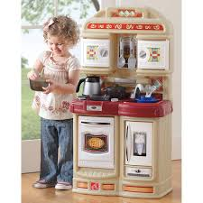 Preschool Kitchen Furniture Step2 Coffee Time Kitchen Includes 21 Piece Cook Set Pink And