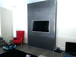 recessed tv wall box recessed wall custom built wall to recess finished with wall tiles and