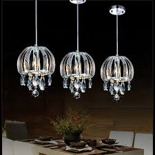 modern pendant lamp crystal kitchen lighting contemporary