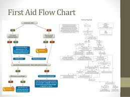 First Aid Procedure Flow Chart First Aid Box