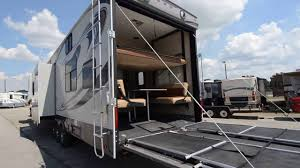 2016 heartland cyclone 3800 fifth wheel toy hauler from porter s rv s
